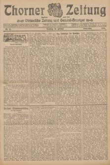 Thorner Zeitung : Ostdeutsche Zeitung und General-Anzeiger. 1906, Nr. 41 (18 Februar) - Zweites Blatt