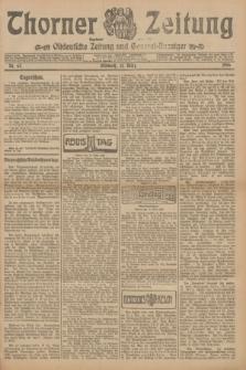 Thorner Zeitung : Ostdeutsche Zeitung und General-Anzeiger. 1906, Nr. 67 (21 März) + dod.