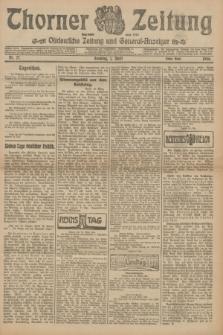 Thorner Zeitung : Ostdeutsche Zeitung und General-Anzeiger. 1906, Nr. 77 (1 April) - Erstes Blatt + dod.