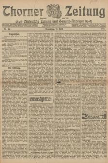 Thorner Zeitung : Ostdeutsche Zeitung und General-Anzeiger. 1906, Nr. 90 (19 April) + dod.