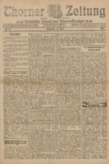 Thorner Zeitung : Ostdeutsche Zeitung und General-Anzeiger. 1906, Nr. 92 (21 April) + dod.