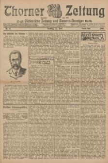 Thorner Zeitung : Ostdeutsche Zeitung und General-Anzeiger. 1906, Nr. 93 (22 April) - Zweites Blatt