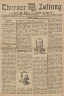 Thorner Zeitung : Ostdeutsche Zeitung und General-Anzeiger. 1906, Nr. 94 (24 April) + dod.
