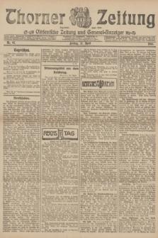 Thorner Zeitung : Ostdeutsche Zeitung und General-Anzeiger. 1906, Nr. 97 (27 April) + dod.