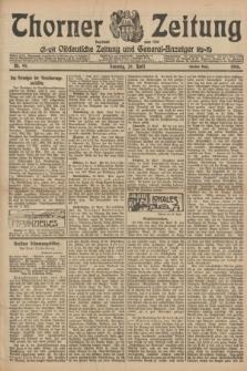 Thorner Zeitung : Ostdeutsche Zeitung und General-Anzeiger. 1906, Nr. 99 (29 April) - Zweites Blatt