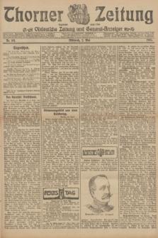 Thorner Zeitung : Ostdeutsche Zeitung und General-Anzeiger. 1906, Nr. 101 (2 Mai) + dod.