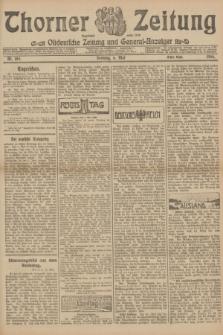 Thorner Zeitung : Ostdeutsche Zeitung und General-Anzeiger. 1906, Nr. 105 (6 Mai) - Erstes Blatt + dod.