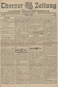 Thorner Zeitung : Ostdeutsche Zeitung und General-Anzeiger. 1906, Nr. 106 (8 Mai) + dod.