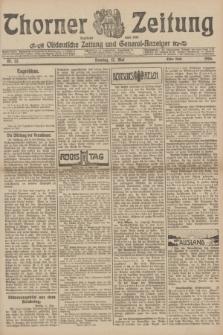 Thorner Zeitung : Ostdeutsche Zeitung und General-Anzeiger. 1906, Nr. 111 (13 Mai) - Erstes Blatt + dod.