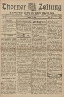 Thorner Zeitung : Ostdeutsche Zeitung und General-Anzeiger. 1906, Nr. 117 (20 Mai) - Erstes Blatt + dod.
