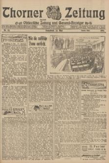 Thorner Zeitung : Ostdeutsche Zeitung und General-Anzeiger. 1906, Nr. 121 (26 Mai) - Zweites Blatt