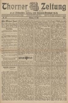 Thorner Zeitung : Ostdeutsche Zeitung und General-Anzeiger. 1906, Nr. 123 (29 Mai) + dod.