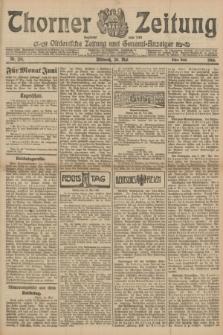 Thorner Zeitung : Ostdeutsche Zeitung und General-Anzeiger. 1906, Nr. 124 (30 Mai) - Erstes Blatt + dod.