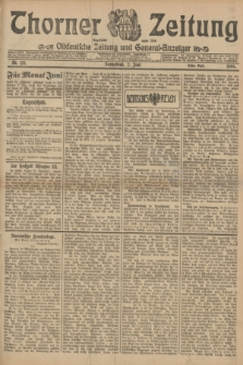 Thorner Zeitung : Ostdeutsche Zeitung und General-Anzeiger. 1906, Nr. 127 (2 Juni) - Erstes Blatt + dod.