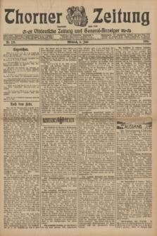 Thorner Zeitung : Ostdeutsche Zeitung und General-Anzeiger. 1906, Nr. 129 (6 Juni) + dod.