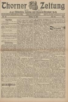 Thorner Zeitung : Ostdeutsche Zeitung und General-Anzeiger. 1906, Nr. 133 (10 Juni) - Erstes Blatt + dod.