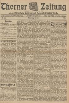 Thorner Zeitung : Ostdeutsche Zeitung und General-Anzeiger. 1906, Nr. 136 (14 Juni) + dod.