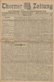 Thorner Zeitung : Ostdeutsche Zeitung und General-Anzeiger. 1906, Nr. 142 (21 Juni) + dod.