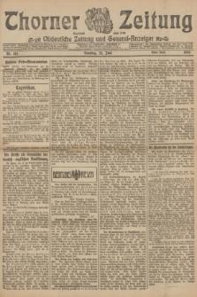 Thorner Zeitung : Ostdeutsche Zeitung und General-Anzeiger. 1906, Nr. 145 (24 Juni) - Erstes Blatt + dod.