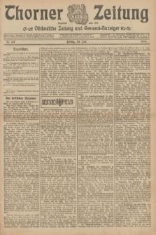 Thorner Zeitung : Ostdeutsche Zeitung und General-Anzeiger. 1906, Nr. 167 (20 Juli) + dod.