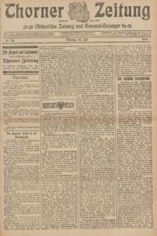 Thorner Zeitung : Ostdeutsche Zeitung und General-Anzeiger. 1906, Nr. 170 (24 Juli) + dod.