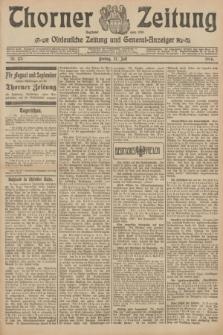 Thorner Zeitung : Ostdeutsche Zeitung und General-Anzeiger. 1906, Nr. 173 (27 Juli) + dod.