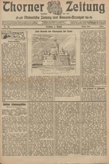 Thorner Zeitung : Ostdeutsche Zeitung und General-Anzeiger. 1906, Nr. 181 (5 August) - Zweites Blatt