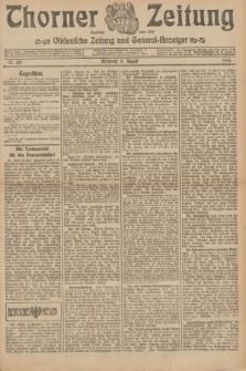 Thorner Zeitung : Ostdeutsche Zeitung und General-Anzeiger. 1906, Nr. 183 (8 August) + dod.