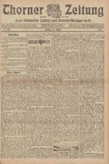 Thorner Zeitung : Ostdeutsche Zeitung und General-Anzeiger. 1906, Nr. 185 (10 August) + dod.