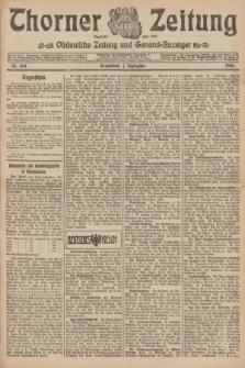 Thorner Zeitung : Ostdeutsche Zeitung und General-Anzeiger. 1906, Nr. 204 (1 September) + dod.