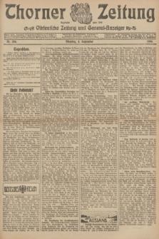 Thorner Zeitung : Ostdeutsche Zeitung und General-Anzeiger. 1906, Nr. 206 (4 September) + dod.