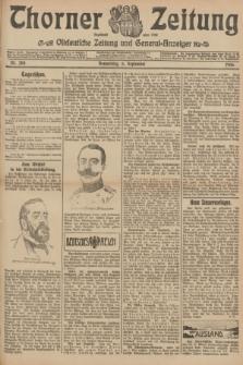 Thorner Zeitung : Ostdeutsche Zeitung und General-Anzeiger. 1906, Nr. 208 (6 September) + dod.