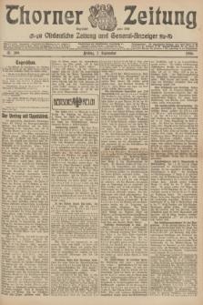 Thorner Zeitung : Ostdeutsche Zeitung und General-Anzeiger. 1906, Nr. 209 (7 September) + dod.