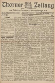 Thorner Zeitung : Ostdeutsche Zeitung und General-Anzeiger. 1906, Nr. 210 (8 September) + dod.