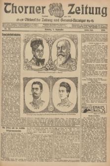 Thorner Zeitung : Ostdeutsche Zeitung und General-Anzeiger. 1906, Nr. 211 (9 September) - Zweites Blatt