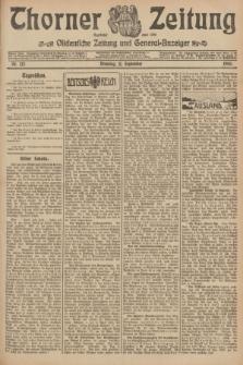 Thorner Zeitung : Ostdeutsche Zeitung und General-Anzeiger. 1906, Nr. 212 (11 September) + dod.