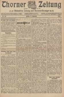 Thorner Zeitung : Ostdeutsche Zeitung und General-Anzeiger. 1906, Nr. 221 (21 September) + dod.