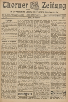 Thorner Zeitung : Ostdeutsche Zeitung und General-Anzeiger. 1906, Nr. 227 (28 September) + dod.