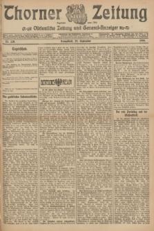 Thorner Zeitung : Ostdeutsche Zeitung und General-Anzeiger. 1906, Nr. 228 (29 September) + dod.