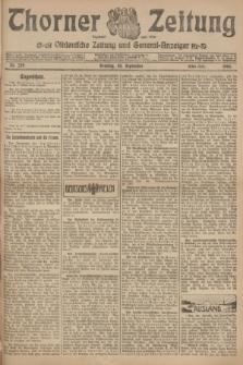 Thorner Zeitung : Ostdeutsche Zeitung und General-Anzeiger. 1906, Nr. 229 (30 September) - Erstes Blatt + dod.