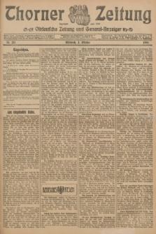 Thorner Zeitung : Ostdeutsche Zeitung und General-Anzeiger. 1906, Nr. 231 (3 Oktober) + dod.