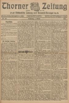 Thorner Zeitung : Ostdeutsche Zeitung und General-Anzeiger. 1906, Nr. 232 (4 Oktober) + dod.
