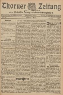 Thorner Zeitung : Ostdeutsche Zeitung und General-Anzeiger. 1906, Nr. 234 (6 Oktober) - Erstes Blatt + dod.