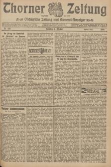 Thorner Zeitung : Ostdeutsche Zeitung und General-Anzeiger. 1906, Nr. 235 (7 Oktober) - Zweites Blatt
