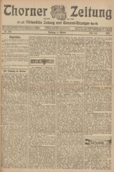 Thorner Zeitung : Ostdeutsche Zeitung und General-Anzeiger. 1906, Nr. 236 (9 Oktober) - Erstes Blatt + dod.
