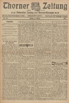 Thorner Zeitung : Ostdeutsche Zeitung und General-Anzeiger. 1906, Nr. 239 (12 Oktober) + dod.
