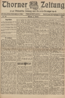 Thorner Zeitung : Ostdeutsche Zeitung und General-Anzeiger. 1906, Nr. 243 (17 Oktober) + dod.