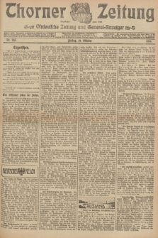 Thorner Zeitung : Ostdeutsche Zeitung und General-Anzeiger. 1906, Nr. 245 (19 Oktober) + dod.