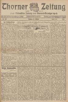 Thorner Zeitung : Ostdeutsche Zeitung und General-Anzeiger. 1906, Nr. 247 (21 Oktober) - Zweites Blatt