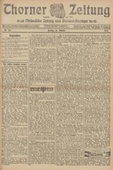 Thorner Zeitung : Ostdeutsche Zeitung und General-Anzeiger. 1906, Nr. 251 (26 Oktober) + dod.